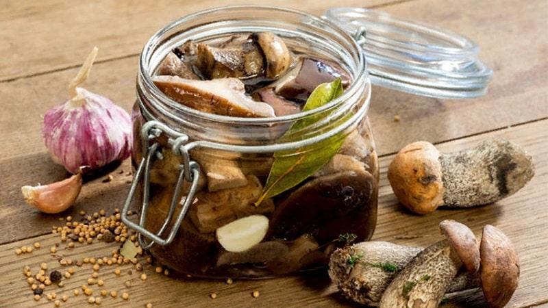 Срок хранения в холодильнике маринованных грибов в банке