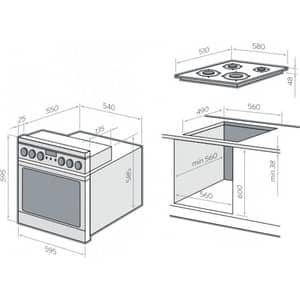 Самостоятельная установка духовки и варочной панели