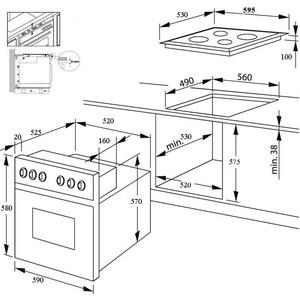 Как подключается газовая варочная панель и газовый духовой шкаф