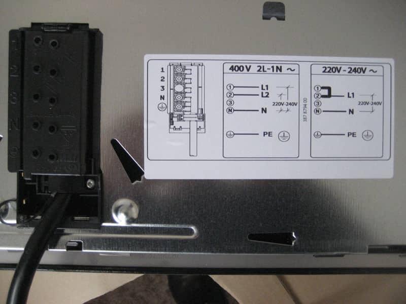 Как подключить индукционную плиту к электросети