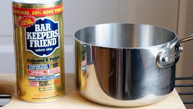 Как почистить кастрюлю из нержавеющей стали от нагара